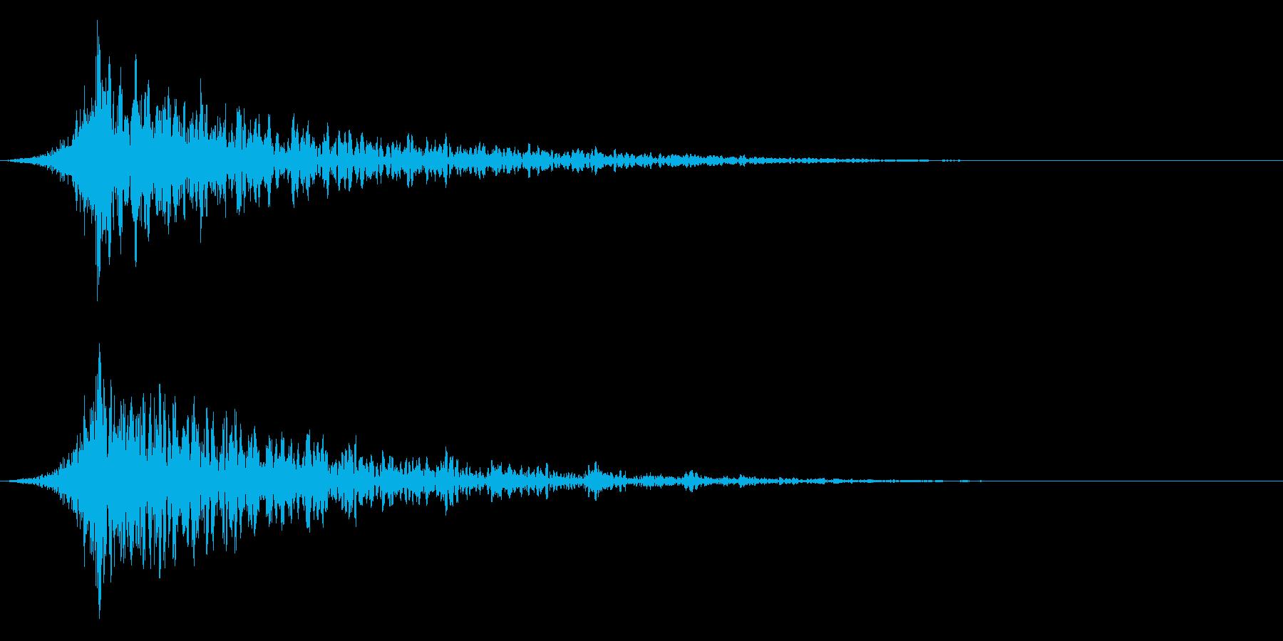 シュードーン-29-1(インパクト音)の再生済みの波形