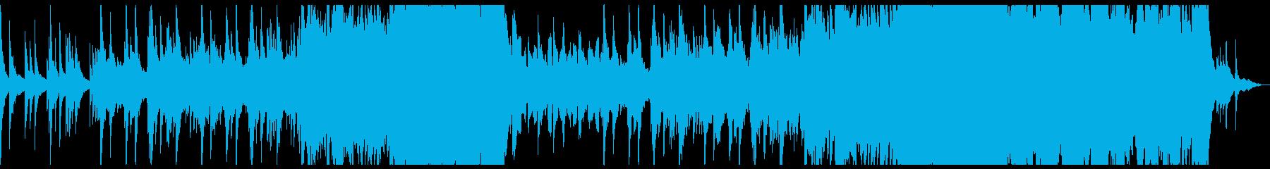 ゆったりした感動的なシネマシンフォ。の再生済みの波形