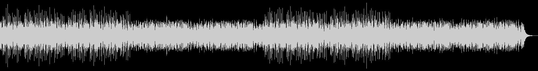 かわいいフューチャーベースエンディングの未再生の波形