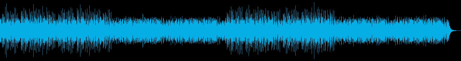 かわいいフューチャーベースエンディングの再生済みの波形