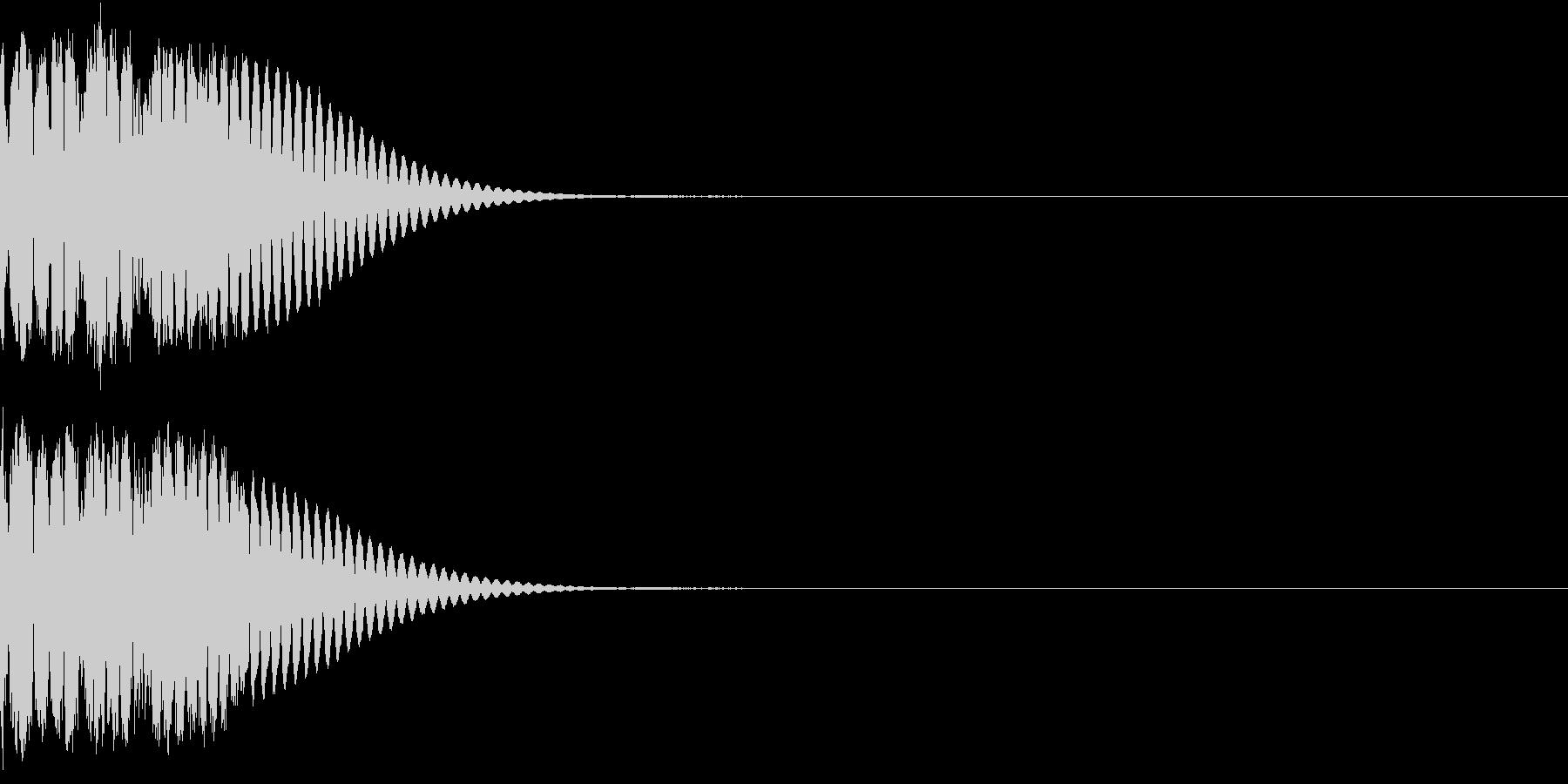 クリック音、キラン、キュイン、ピコン10の未再生の波形