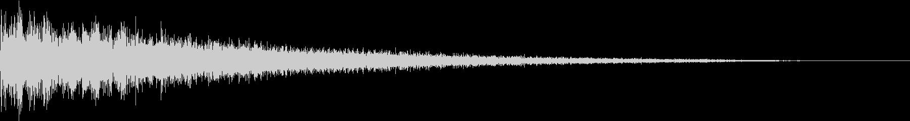 【ゲーム】 ヒット 02 ドヒャーンッの未再生の波形