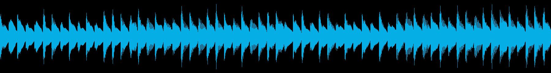 1000円ループ・穏やか・知育・アプリの再生済みの波形