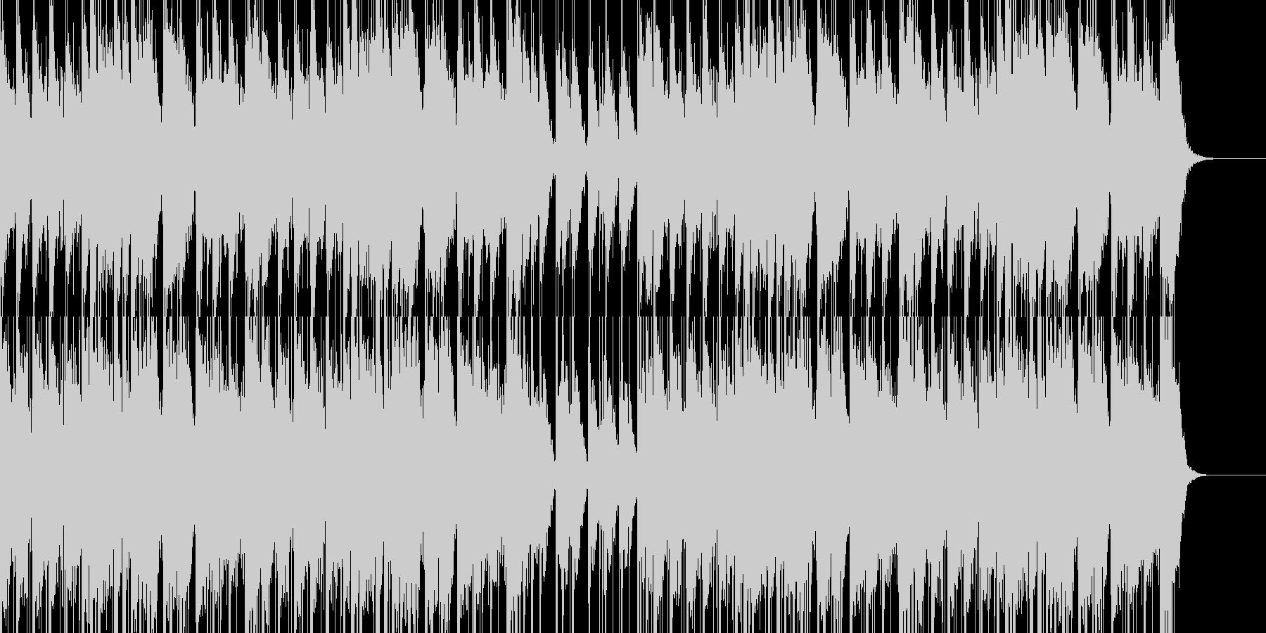 和風、お祭り、お囃子のBGMの未再生の波形