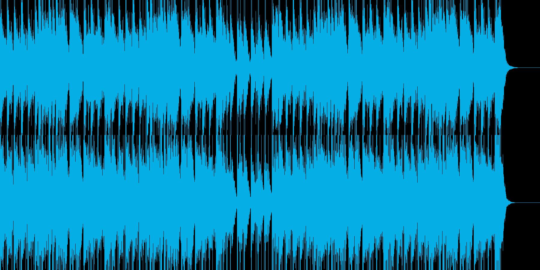 和風、お祭り、お囃子のBGMの再生済みの波形
