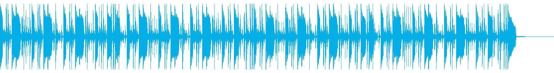 145 BPMの再生済みの波形