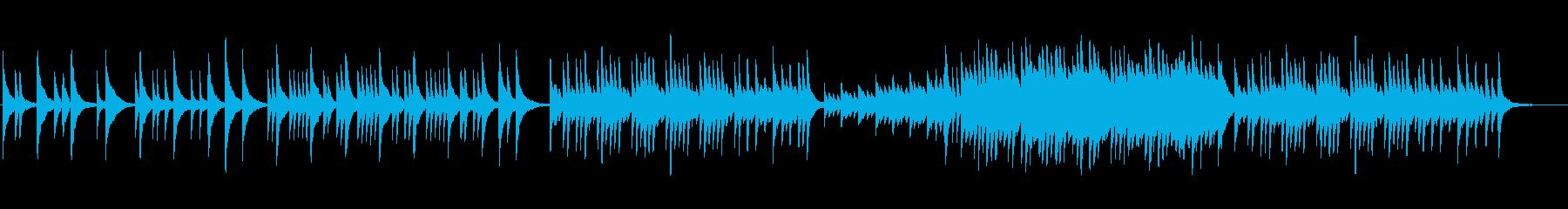 静か 切ない 聞きやすいピアノソロの再生済みの波形