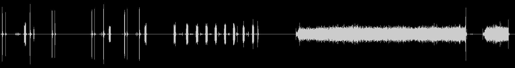 カメラ、インスタマティック、クリッ...の未再生の波形