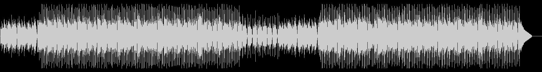 ミドルテンポのアコースティックポップの未再生の波形