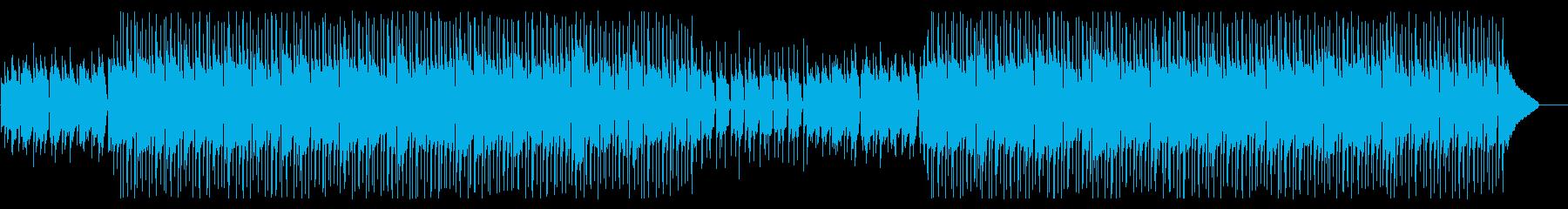 ミドルテンポのアコースティックポップの再生済みの波形