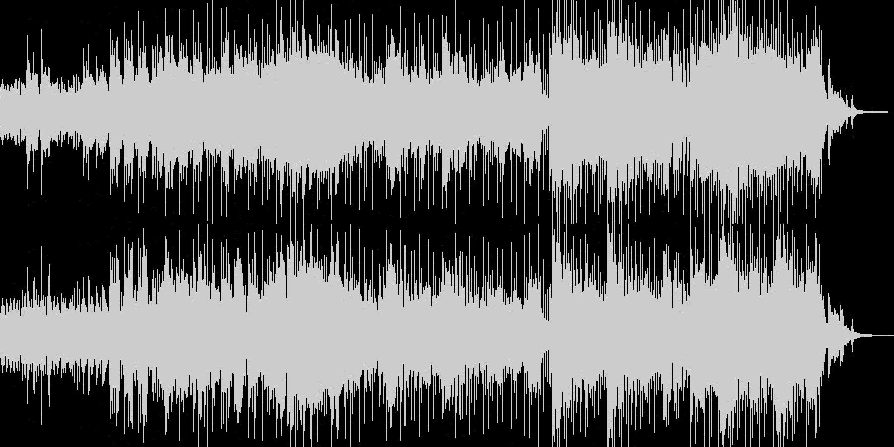 異世界・故人を想う雰囲気 ドラム有 短尺の未再生の波形