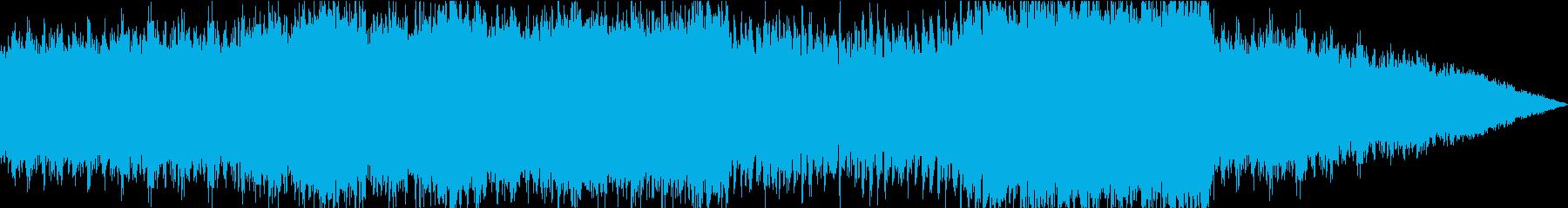 背中を押してくれるBGMの再生済みの波形
