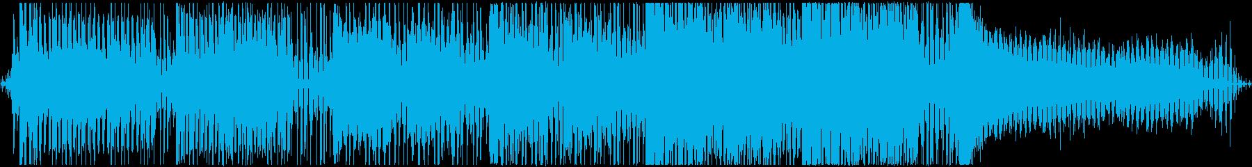 美しくピアノ響く和風プログレッシブハウスの再生済みの波形