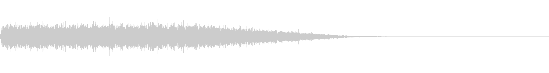 歓声 応援 拍手の効果音 001の未再生の波形