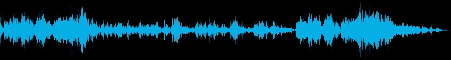 ショパン作曲 幻想即興曲の再生済みの波形