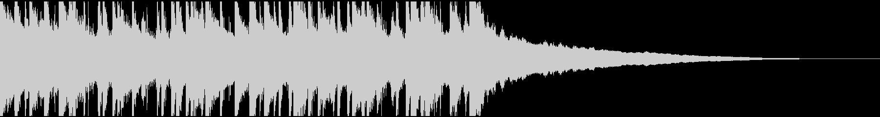 ウクレレ、リコーダーの楽しい楽曲30秒の未再生の波形