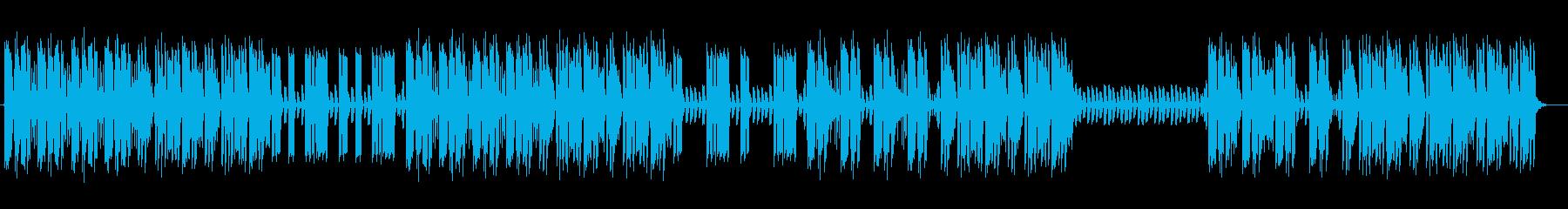 クールでマイナーなエレキギターサウンドの再生済みの波形