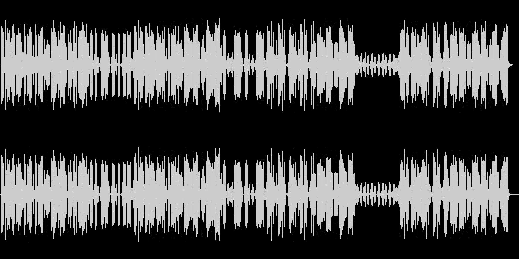 クールでマイナーなエレキギターサウンドの未再生の波形