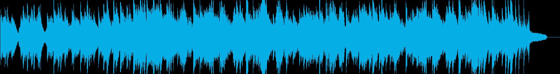 爽やか・ピアノソロ・イベント・映像の再生済みの波形