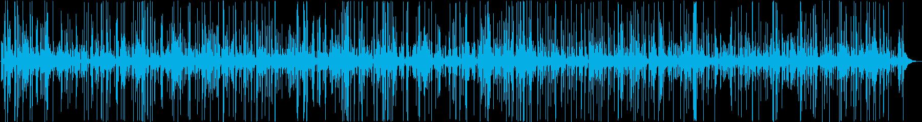 イメージ 引き裂かれた狂気01の再生済みの波形