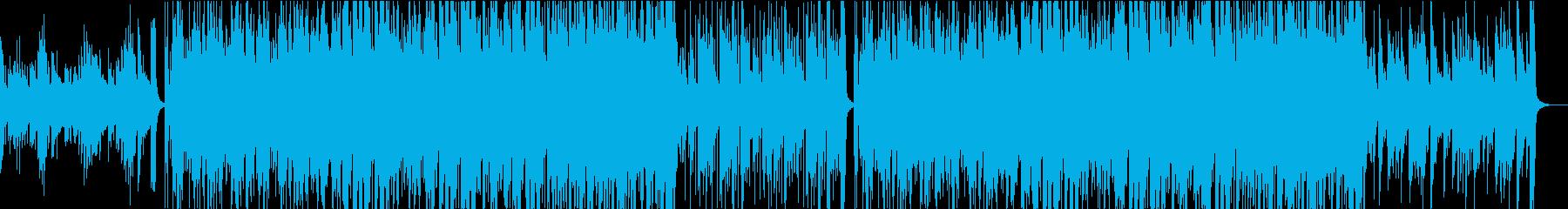 プロフィールビデオ等に 感動的なピアノの再生済みの波形