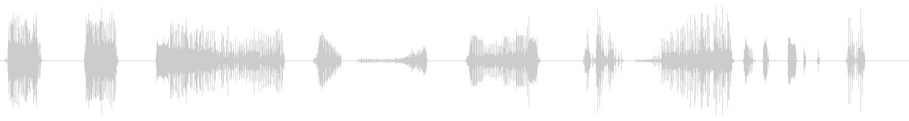 小型空気圧リベットガン;ミューティ...の未再生の波形