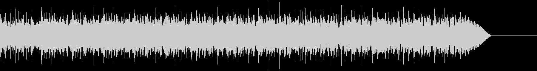 15秒の短いスピードメタル系ドラムソロの未再生の波形