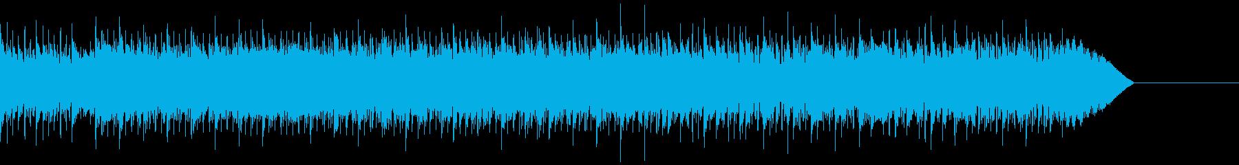 15秒の短いスピードメタル系ドラムソロの再生済みの波形