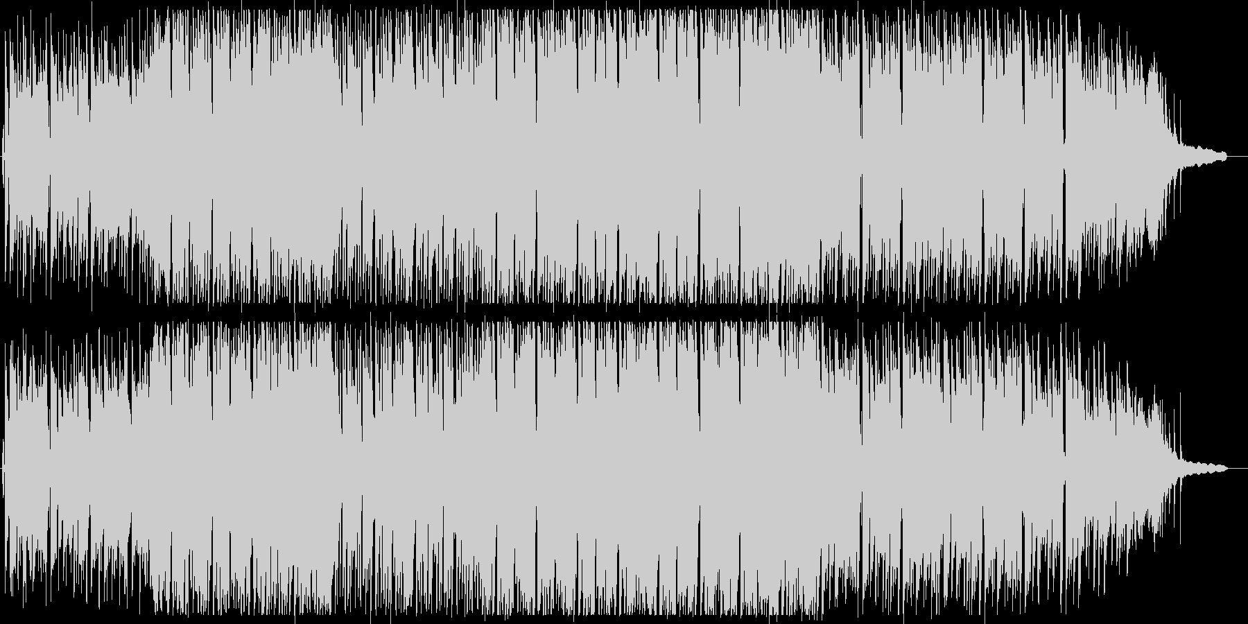 【アニメ, PV】元気溢れるピアノロックの未再生の波形