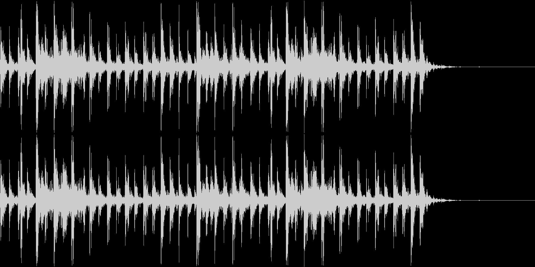 シャンシャンシャン クリスマスの鈴2の未再生の波形