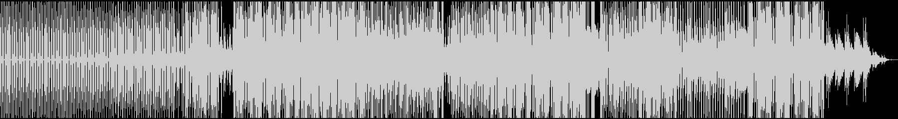 軽快なDEEP HOUSE SOUNDの未再生の波形
