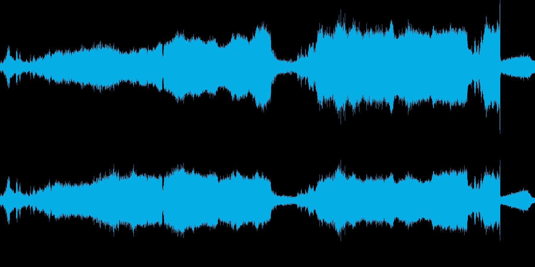近くのマシンソーチェーンカッティングの再生済みの波形