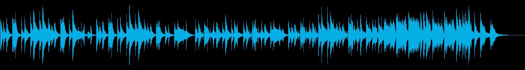 【CM動画】可愛らしいマリンバ【短縮版】の再生済みの波形