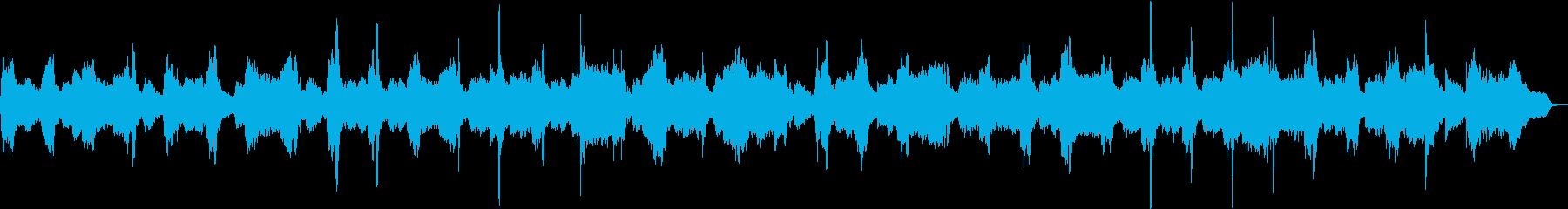 アンビエント弦 瞑想 ヒーリング 癒しの再生済みの波形