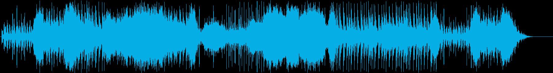 ファンタジーRPGのバトルの再生済みの波形