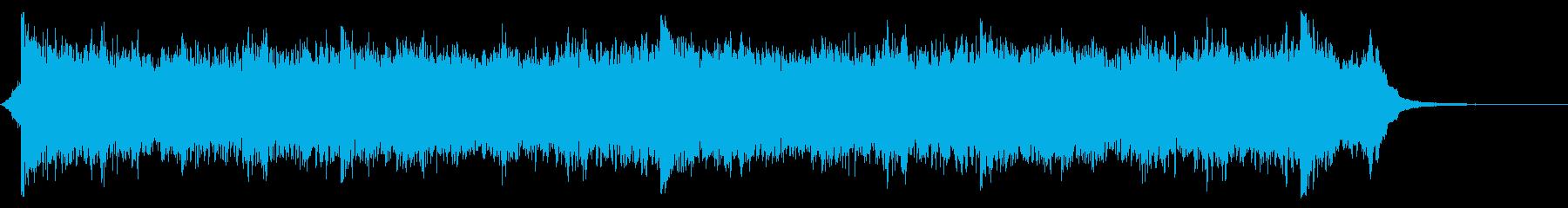 【ショート】前向きなエピックオーケストラの再生済みの波形