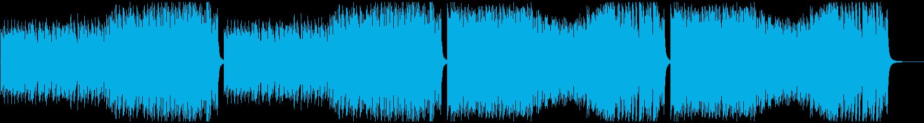 調理シーン等に最適のピアノソロ曲の再生済みの波形