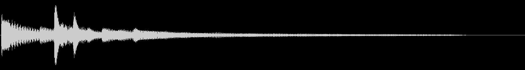 アコースティックギターとアコーステ...の未再生の波形