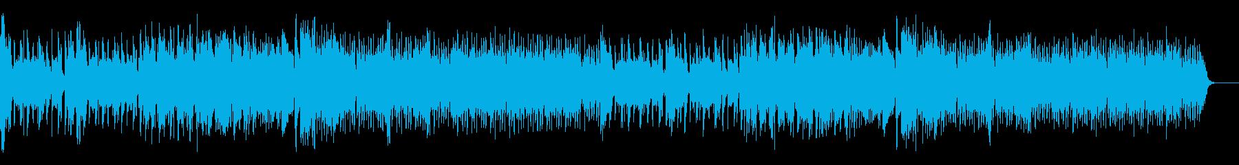 カワイイfuture bass 風の再生済みの波形