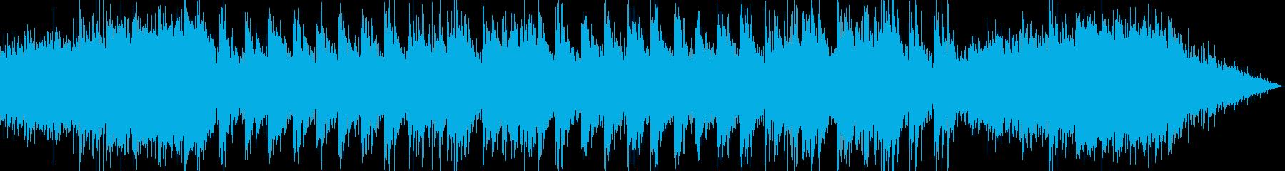 降り積もる雪を表現したボイスシンセピアノの再生済みの波形