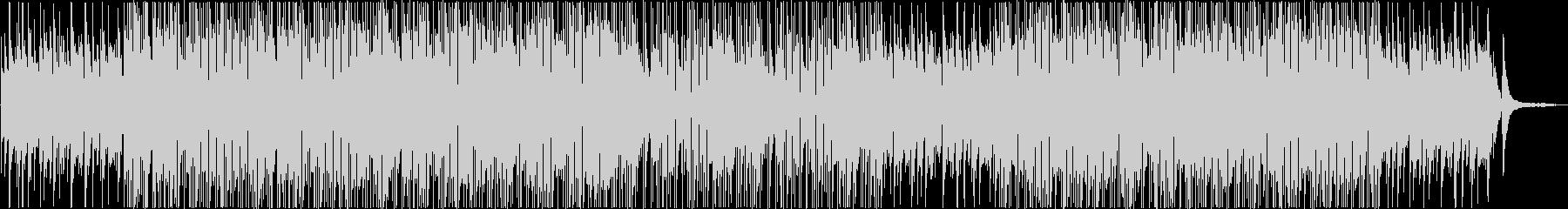 少し切ない雰囲気のボサノバ系BGMの未再生の波形