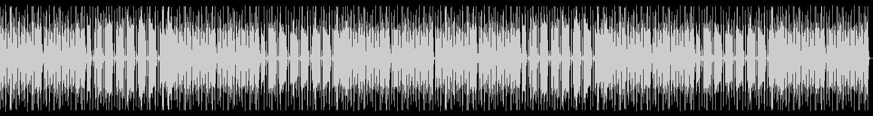 優しい音色のエレピのほんわか劇伴の未再生の波形