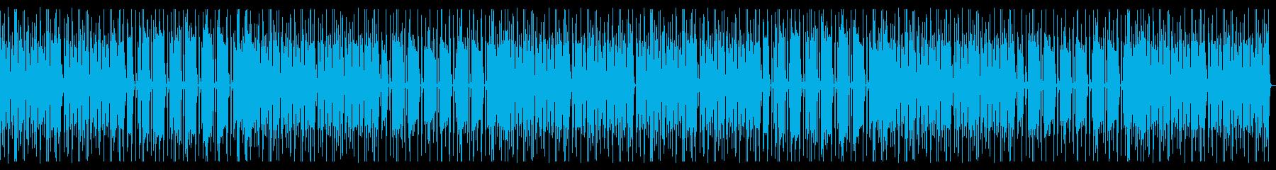 優しい音色のエレピのほんわか劇伴の再生済みの波形