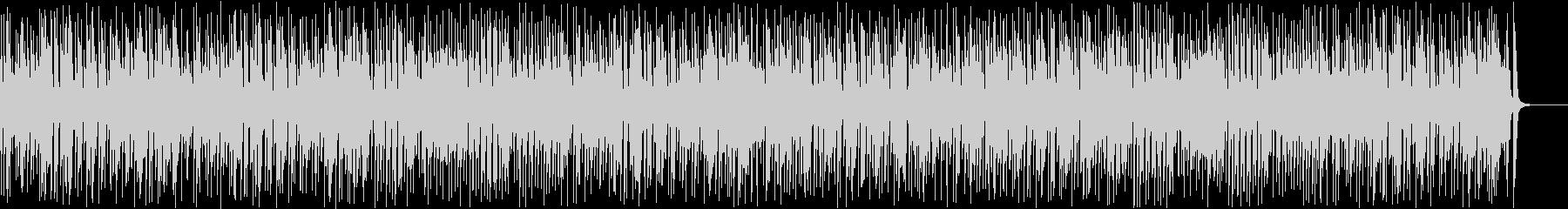 暗くて速いリズミカルなジプシージャズの未再生の波形