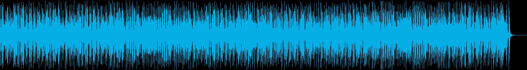 暗くて速いリズミカルなジプシージャズの再生済みの波形