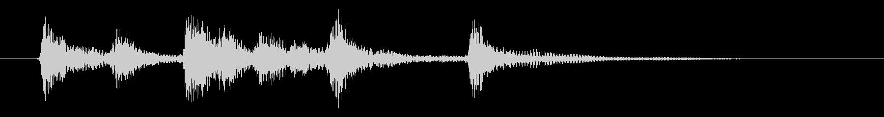 ピチカートのシンプルなジングル その1の未再生の波形