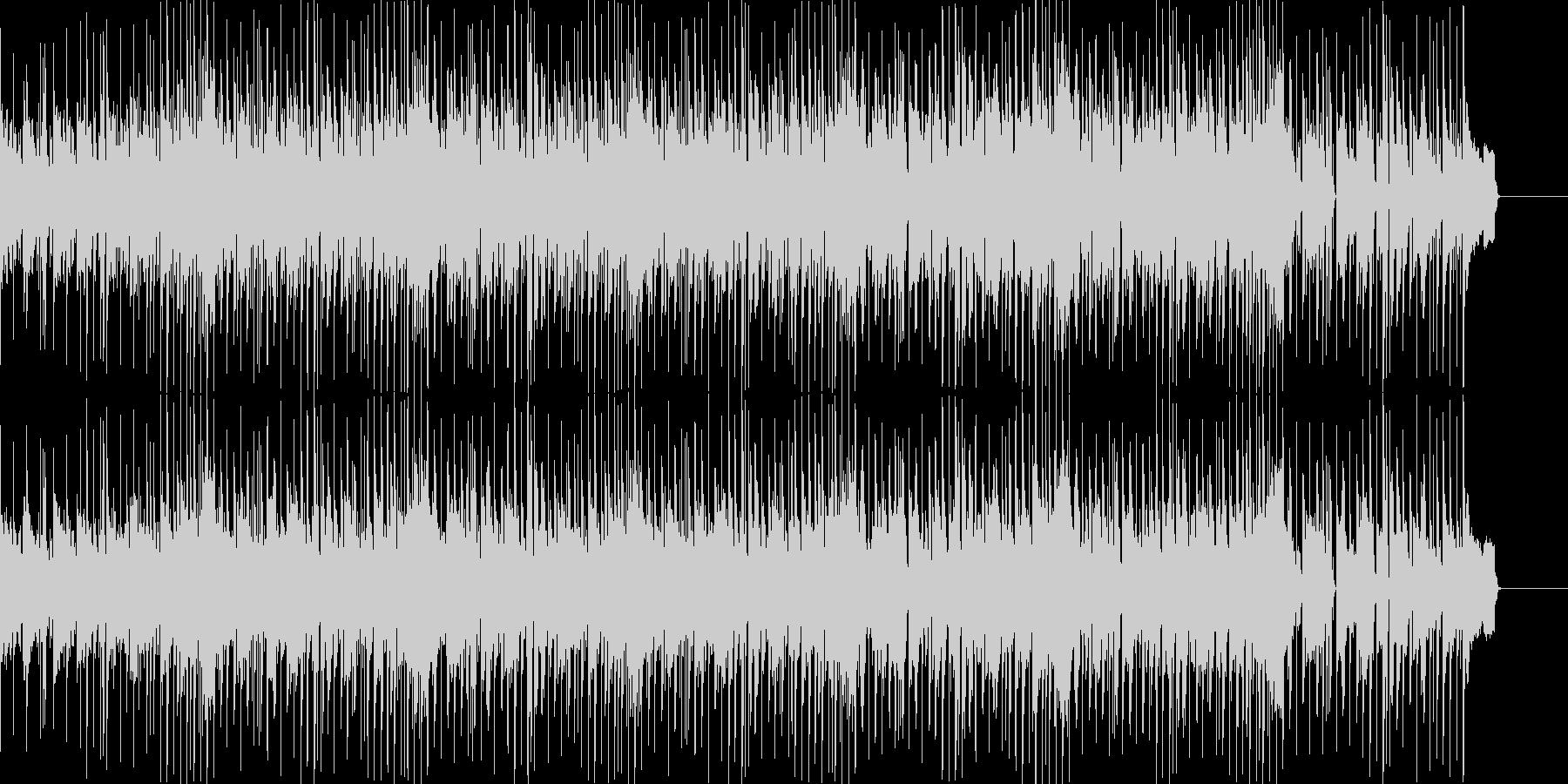 ゲームのモードセレクト風ポップスの未再生の波形