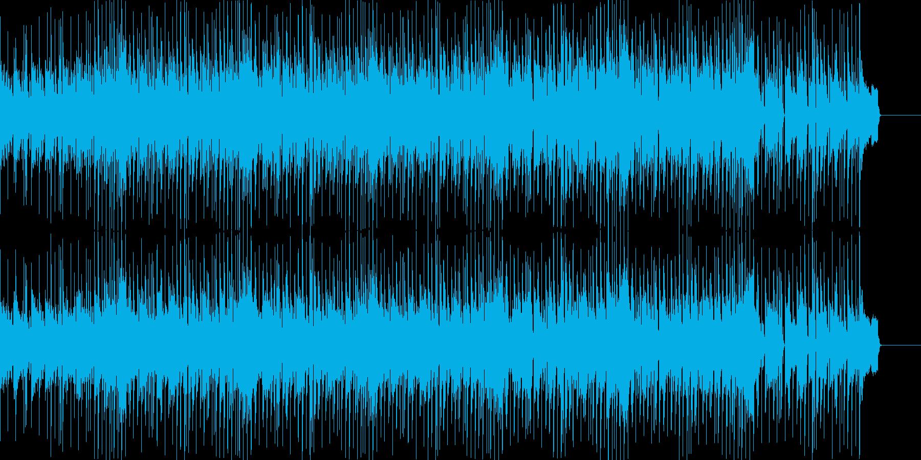 ゲームのモードセレクト風ポップスの再生済みの波形