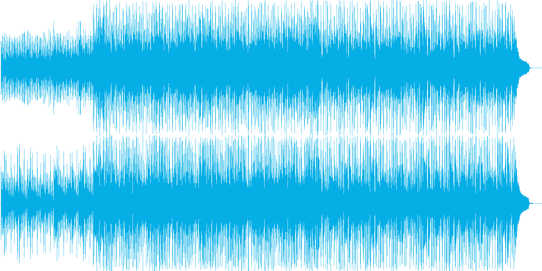 流行のコンセプトムービーBGMサウンド②の再生済みの波形