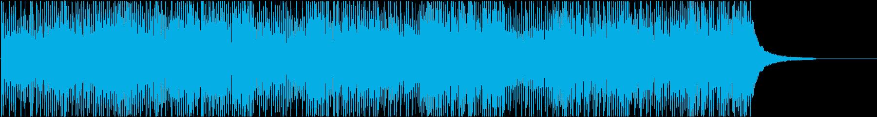 News7 24bit44kHzVerの再生済みの波形